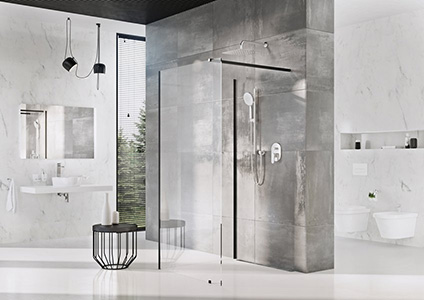 Most popular RAVAK products - Walk-In, a shower tailored for you