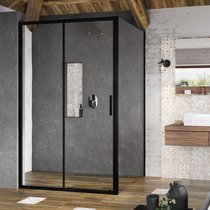 Blix Slim BLSDP2 + BLSPS shower enclosure