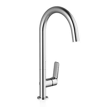 Washbasin / kitchen sink standing tap