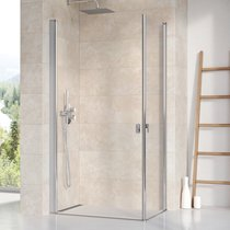 Chrome CRV1 + CRV1 shower enclosure