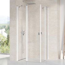 Chrome CRV2+CRV2 Shower Enclosure
