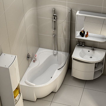 Solutions for Smaller Bathrooms
