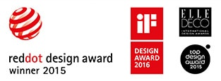 Bathroom concept 10° received prestigious international product design award