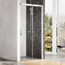 Two-part shower door MSD2