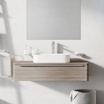 Sud bathroom furniture – cabinets under washbasins on table