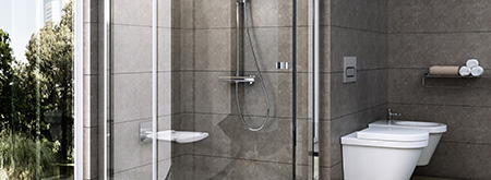 Pivot Shower Enclosures and Shower Doors