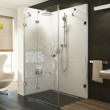 Shower Enclosures, Seats and Hydro-massage Panels