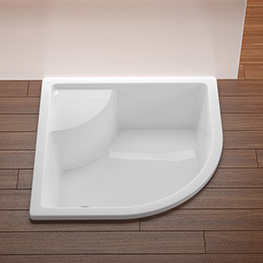 Deep Shower Trays and Mini-bathtubs
