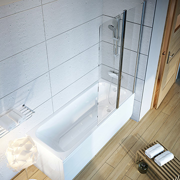 Bathtub Screens and Bathtub Doors