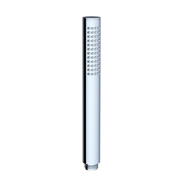 Chrome shower head, round